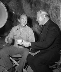 Father Peyton with Bing Crosby