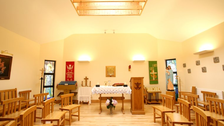 Mass is offered from St Joseph's Church Attymass for the people of the parish.