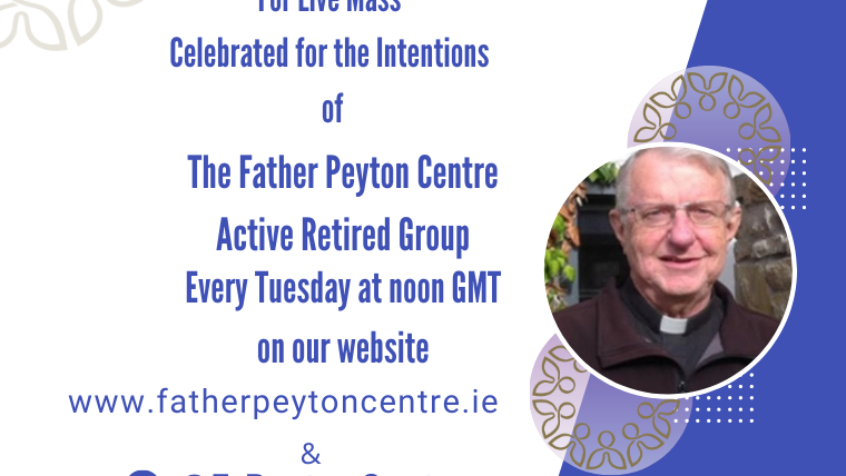 Join Father Steve Gibson C.S.C for Mass Live every Tuesday at noon GMT