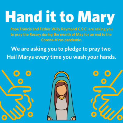 Hand it to Mary